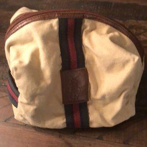 Vintage Polo cosmetics Bag